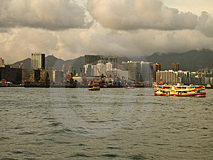 Hong Kong Victoria Harbour Royalty Free Stock Photo - Image: 20052155