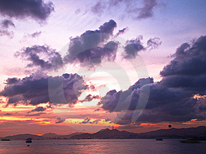 Sunset View Royalty Free Stock Image - Image: 20052176