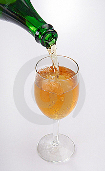 Pouring Champagne Royalty Free Stock Photo - Image: 20054885