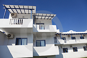 Beach Rentals In The Area Of Halkidiki Royalty Free Stock Photography - Image: 20055547