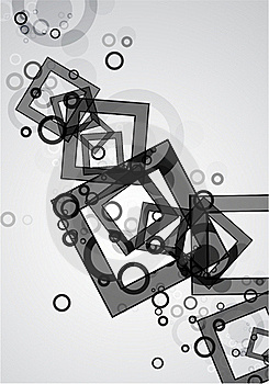 Black Abstract Geometric Background Stock Photos - Image: 20056373