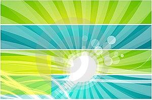 Vector Light Bulb Background Stock Photo - Image: 20056860