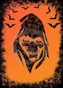 Halloween Invitation Card Stock Photography - Image: 20057182