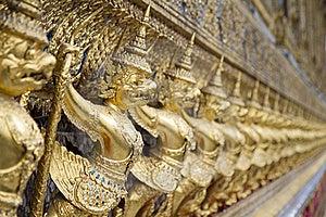 Gold Garuda Stock Images - Image: 20057304