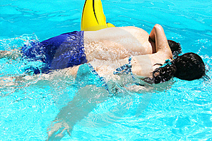Couple In Swimming Pool Stock Image - Image: 20058321