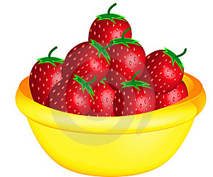 Red Strawberries Royalty Free Stock Photo - Image: 20058775