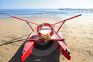 Old Rescue Boat On Beach Stock Photo - Image: 20059320