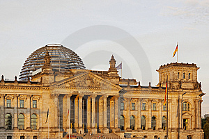 Berlin - Reichstag Building Royalty Free Stock Photo - Image: 20059835