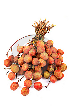 Tropical Litchi Royalty Free Stock Image - Image: 20060416