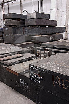 Steel Blocks Stock Photos - Image: 20065173