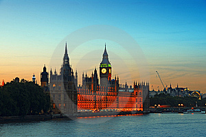 Houses Of Parliament, Lonodon. Stock Image - Image: 20070341