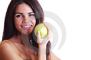 Eat Apple Royalty Free Stock Photos - Image: 20071468