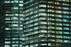 Commercial Skyscraper Royalty Free Stock Images - Image: 20073309