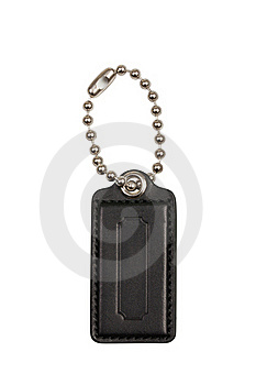 Leather Luggage Tags Stock Image - Image: 20075801