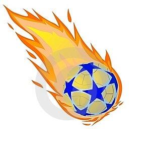 Fiery Ball Stock Image - Image: 20075991