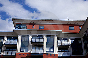 Modern Building Royalty Free Stock Images - Image: 20078889