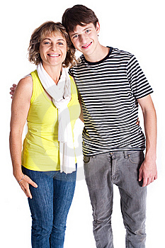 Grandmother With Young Grandson Stock Photos - Image: 20079113