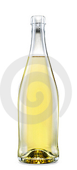 Wine Bottle Royalty Free Stock Images - Image: 20079789