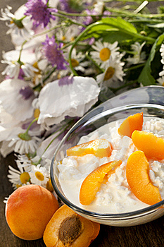 Cottage Cheese Royalty Free Stock Photography - Image: 20079967