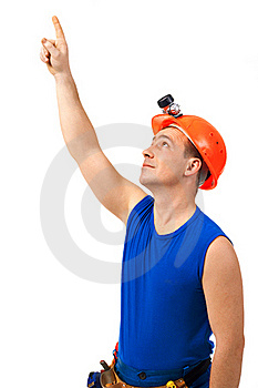 Point To The Up Royalty Free Stock Photo - Image: 20080495