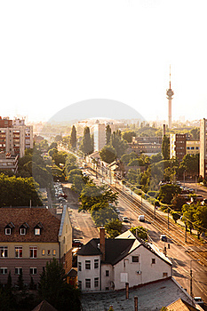 Suburbs Of A City Stock Photos - Image: 20081453