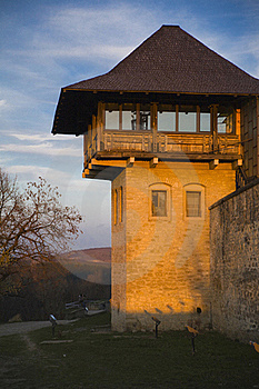 Medieval Fort Tower Stock Photography - Image: 20083212