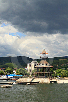 Danube Orsova, Romania Stock Photography - Image: 20087772
