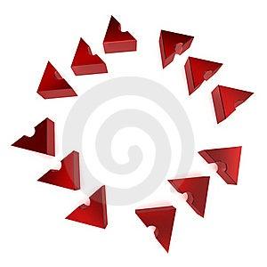 Circular Process Arrows Royalty Free Stock Photo - Image: 20089725