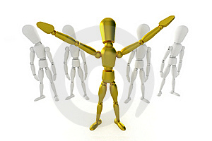 Standing Out Royalty Free Stock Images - Image: 20089729