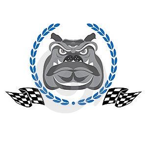 Bulldog Race Stock Image - Image: 20089851