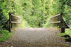 Wooden Bridge Stock Photos - Image: 20090143