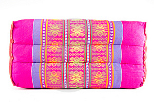 Thai Handmade Pillow Royalty Free Stock Image - Image: 20091876