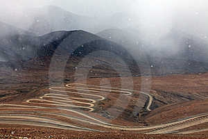 Roundabout Dirt Road Royalty Free Stock Photos - Image: 20091998