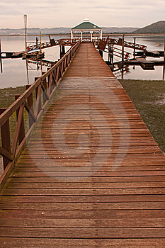 Wooden Jetty Stock Photography - Image: 20094142