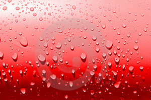 Simple Red Waterdrops Royalty Free Stock Photos - Image: 20094558