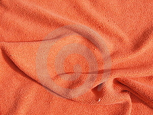 Orange Blanket Royalty Free Stock Image - Image: 20094656