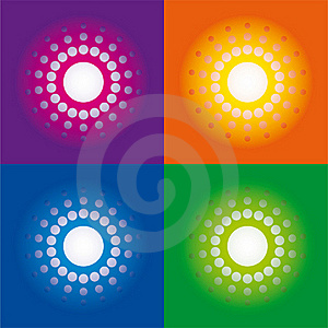 Vector - Bright Raster Royalty Free Stock Image - Image: 20095386