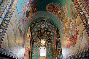 Church Of The Savior On Blood Stock Images - Image: 20096024