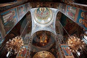 Church Of The Savior On Blood Royalty Free Stock Image - Image: 20096036