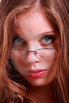 A Close-up Of A Sexy Secretary Stock Photos - Image: 20096123