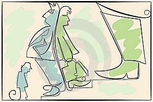 Career Illustration Royalty Free Stock Photos - Image: 20097228