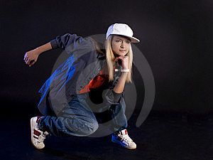 Modern Dance. Hip-hop. Stock Photos - Image: 20098723