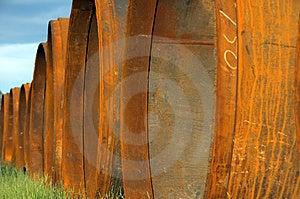 Underground Pipes Stock Photo - Image: 2014390