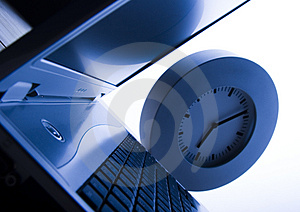 Business time Royalty Free Stock Images