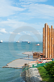 Seaside Piling Royalty Free Stock Photos - Image: 20106258
