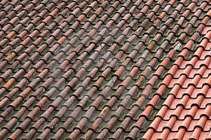 Old Tiles Stock Image - Image: 20108191