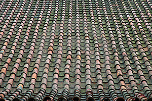 Old Tile Roof Royalty Free Stock Photos - Image: 20108248