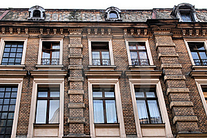 Historic Building In Torun, Poland Royalty Free Stock Images - Image: 20108569