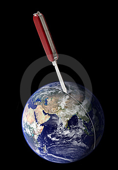 Heftige Trennung Von Erde Lizenzfreies Stockfoto - Bild: 20112825