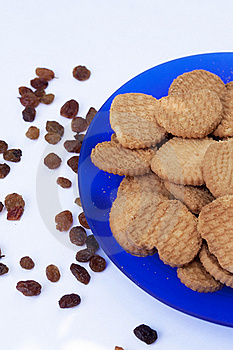 Biscuits With Raisin Stock Images - Image: 20113944